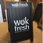 Premium Snap Frame A1 A Board advertising Wok Fresh food