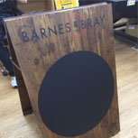 Bespoke Business Signs: Premium Wooden A Boards