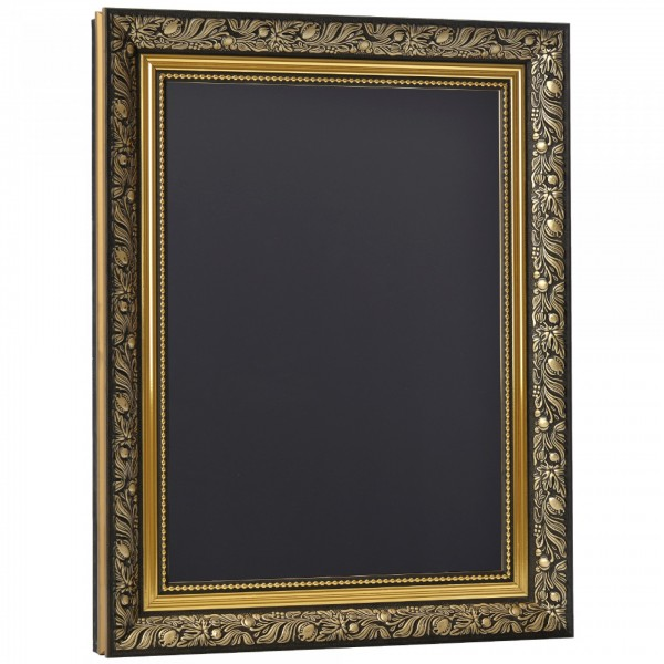 Gold Ornate Framed  Chalkboard/Blackboard