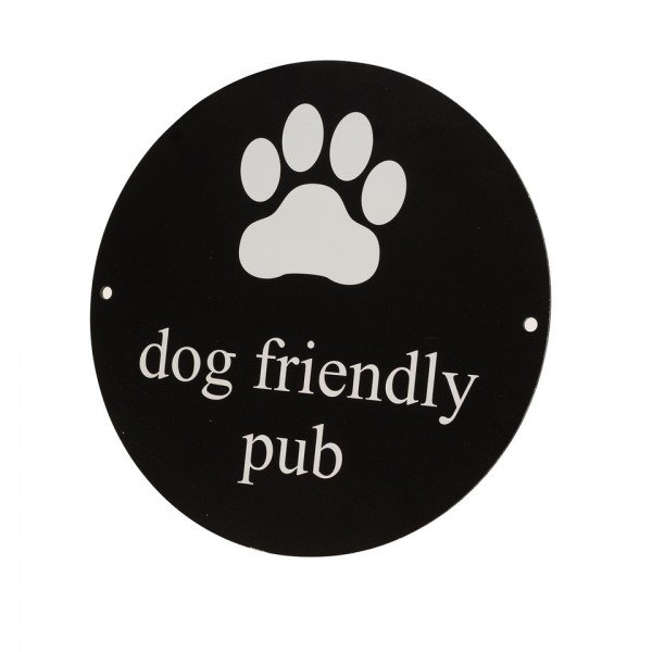 Printed Dog Friendly Sign