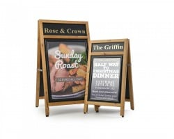 Standard Plus Wooden A-Boards