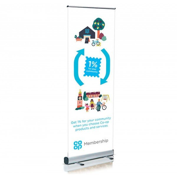 Designed & Printed Pop Up Banner