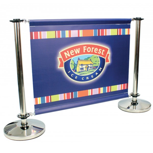 Printed Cafe Barriers