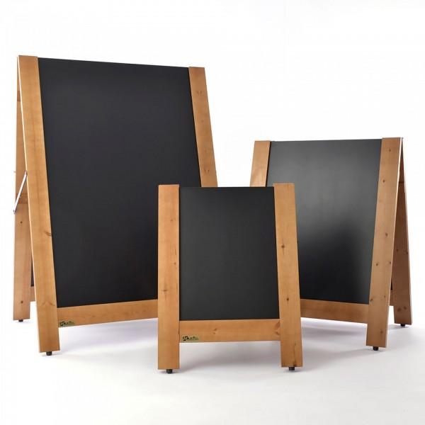 Reversible Chalkboard/Blackboard Wooden A-Boards