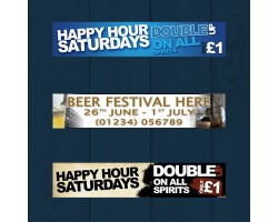 Drink Promotions Banners