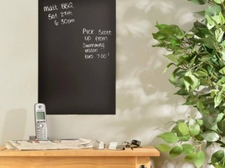 What are chalkboards?