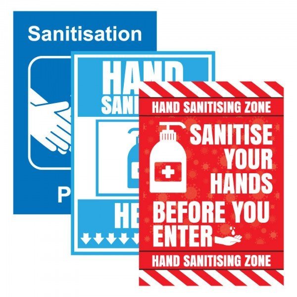 Sanitisation Posters