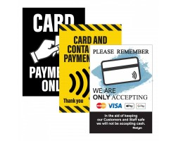 Card Payment Posters