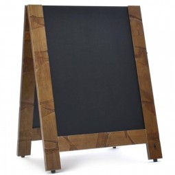 DISTRESSED REVERSIBLE WOODEN A BOARD