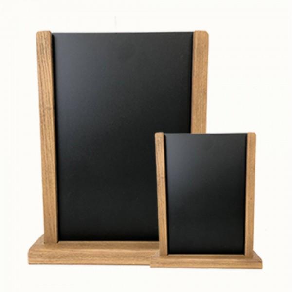 Pillar Chalkboard Menu Holder