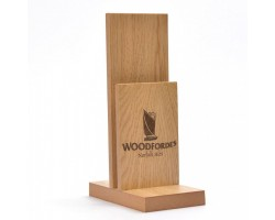 Tall Dual Wooden Menu Holder MH12
