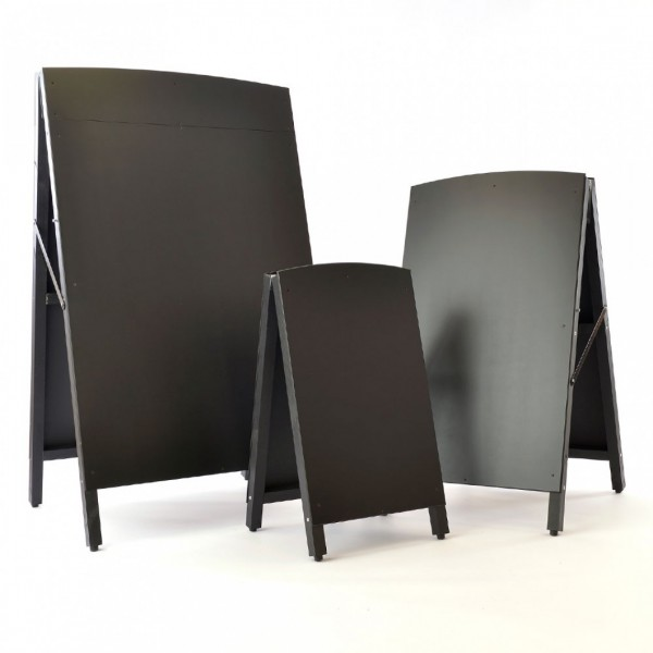 Premium Black Wooden A-Boards