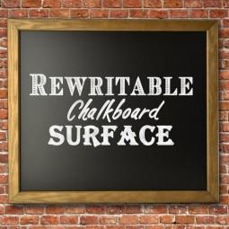 EXTERIOR ASH FRAMED CHALKBOARD/BLACKBOARD