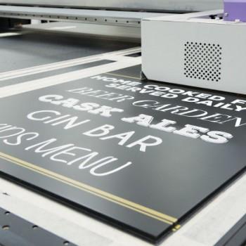 Digital printing can create a handwritten look