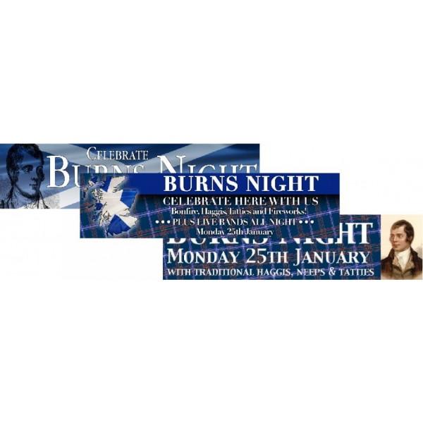 Burns Night Banners