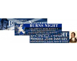 Burns Night Banners