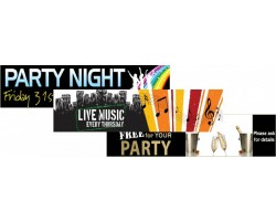 Entertainment & Party Banners