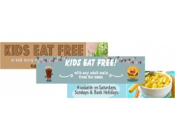Food Promotions - Kids Eat Free Banners