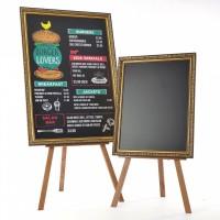 Majisign's framed chalkboard mounted on an easel